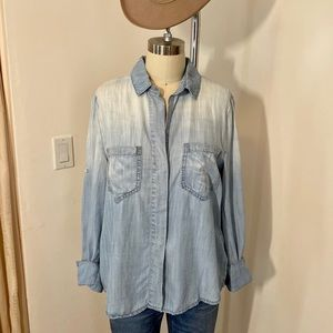 Anthropologie Cloth & Stone chambray